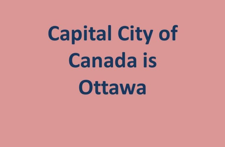 What is the Capital of Canada