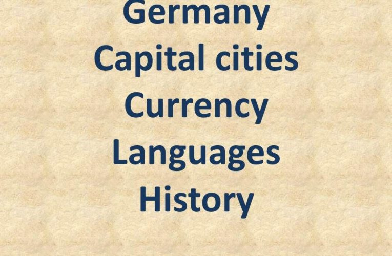 Capital of Germany: Currency|Languages| History