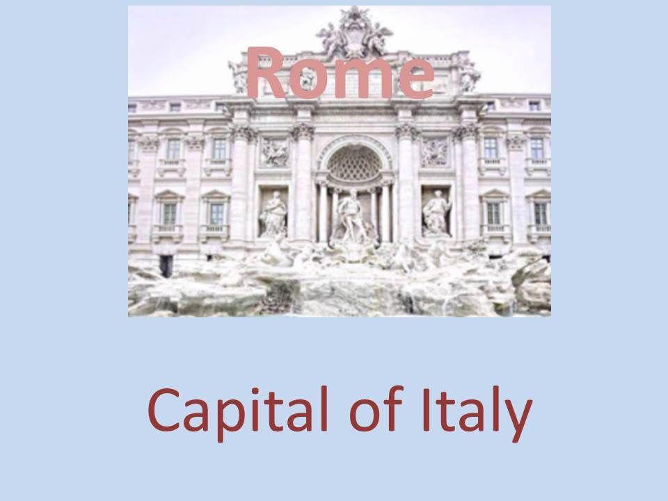 capital of italy Rome
