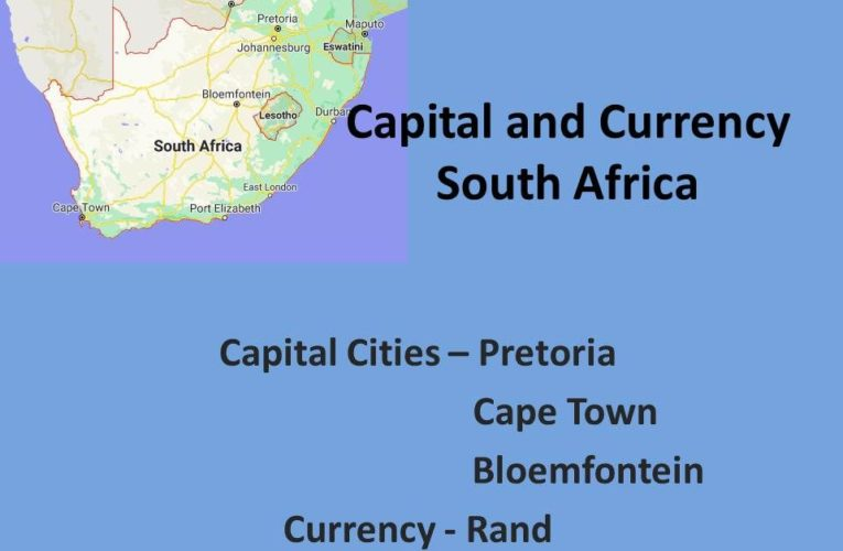 Capital of South Africa: Capital Cities of South Africa