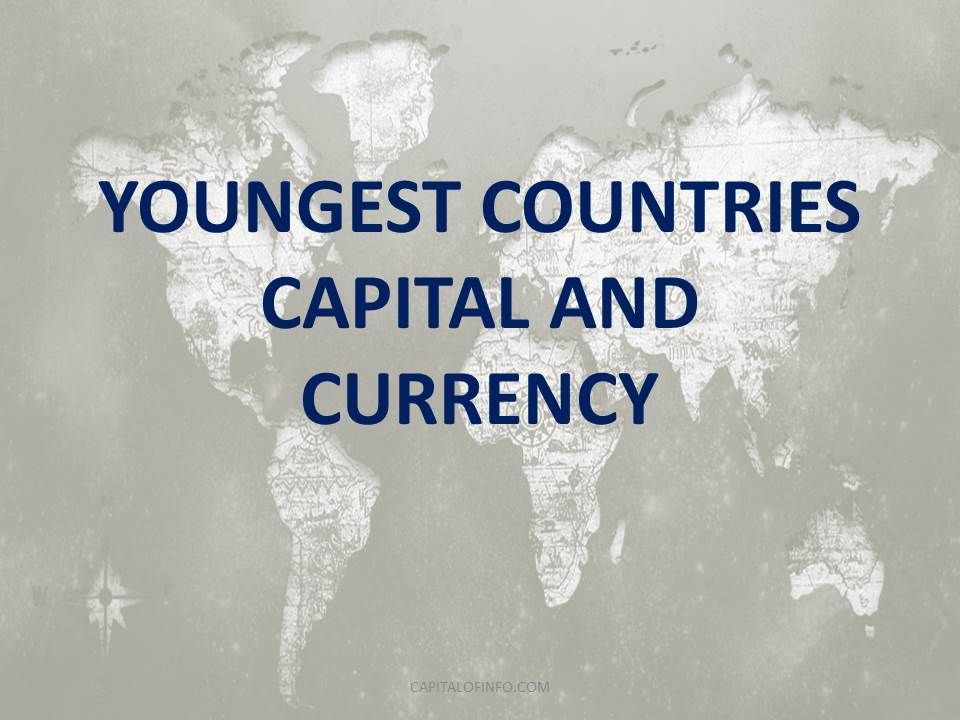 youngest countries