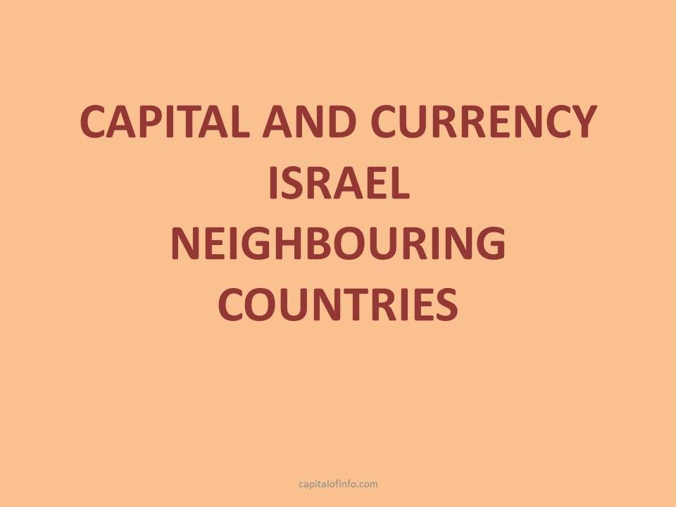 capital of israel